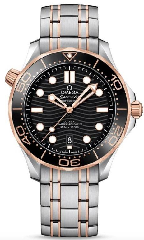 Authentic 21020422001001 - OMEGA Mod. SEAMASTER PROFESSIONAL DIVER Men Watch