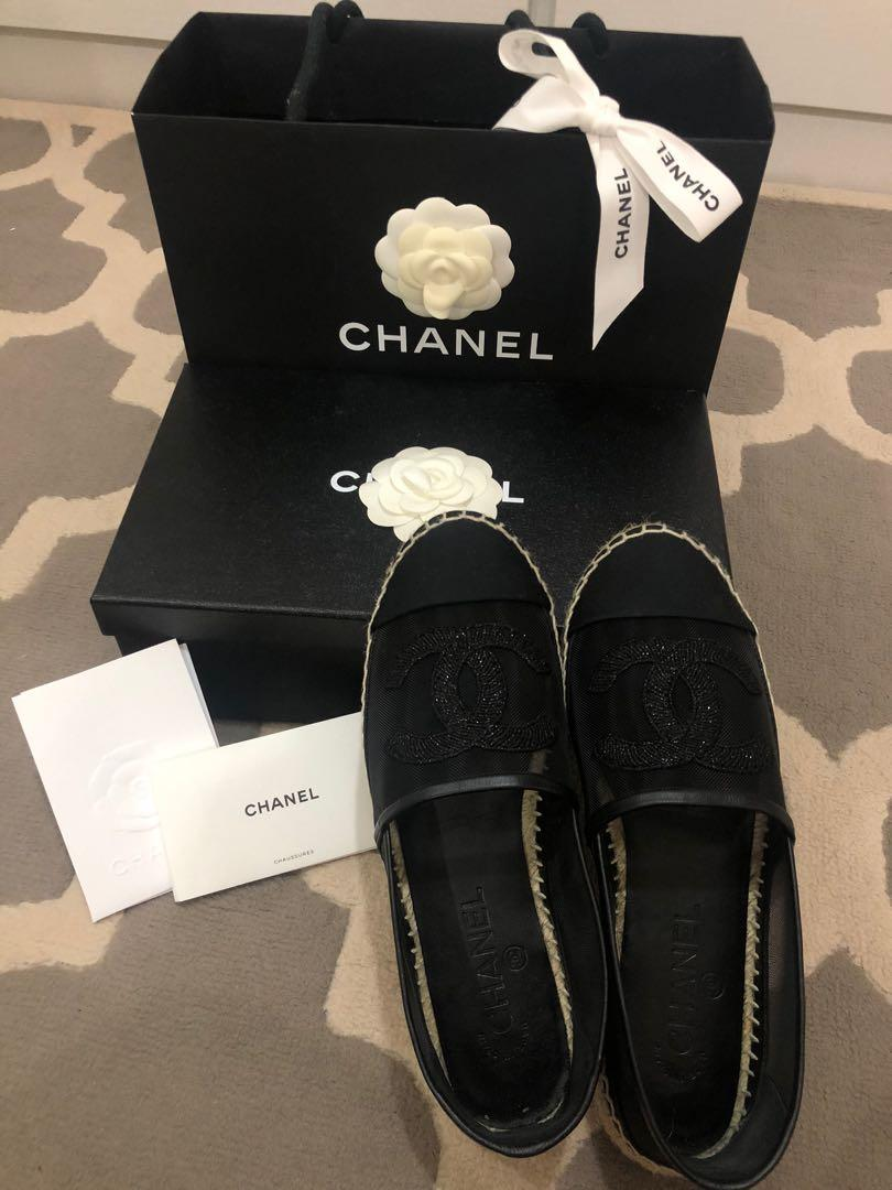 Authentic Chanel Espadrilles SS2019 🔥 Fast deal $600🔥