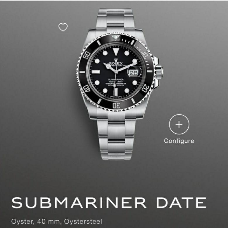 BNIB Rolex Submariner Date 40mm 116610LN