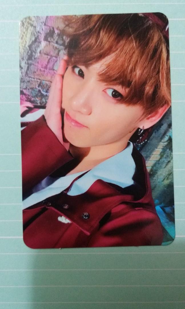 BTS 防彈少年團 YNWA 柾國專輯小卡