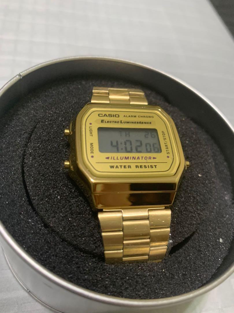 😳Buy any 3 get 1 free😍 Casio Gold Watch