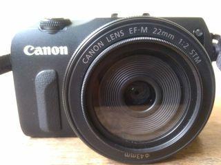 Canon eos M lensa EF - M 22 mm