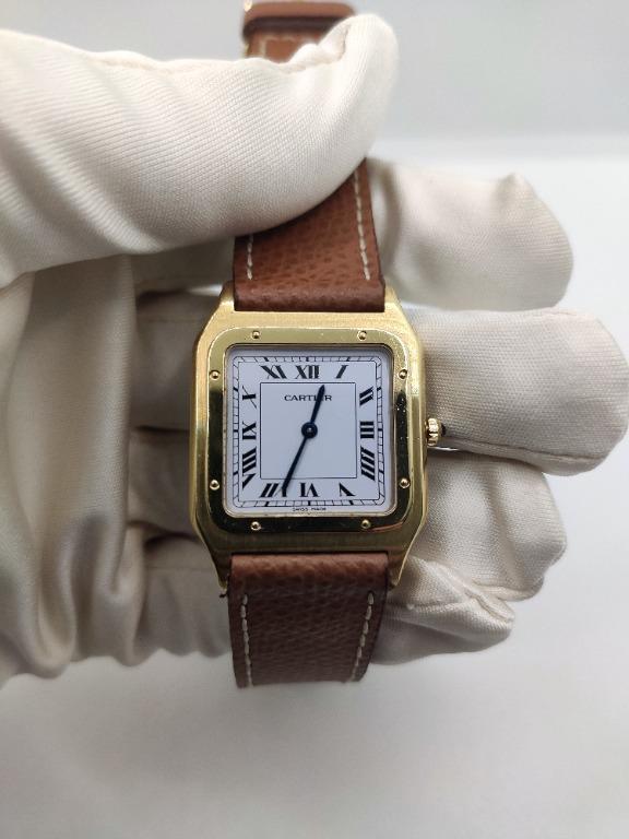 Cartier Santos-Dumont Ultra Thin circa 1980s
