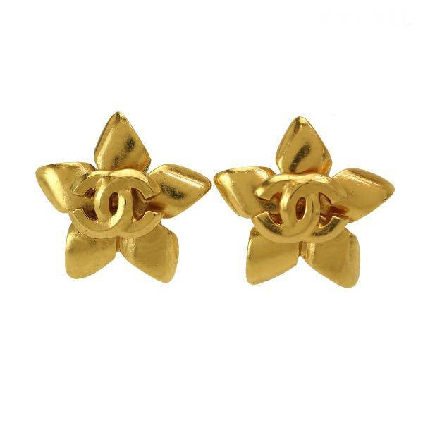 [保證真品]Chanel 香奈兒你是我的花朵夾式耳環