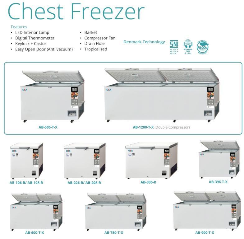 CHEST FREEZER (AB-208-R -26C)