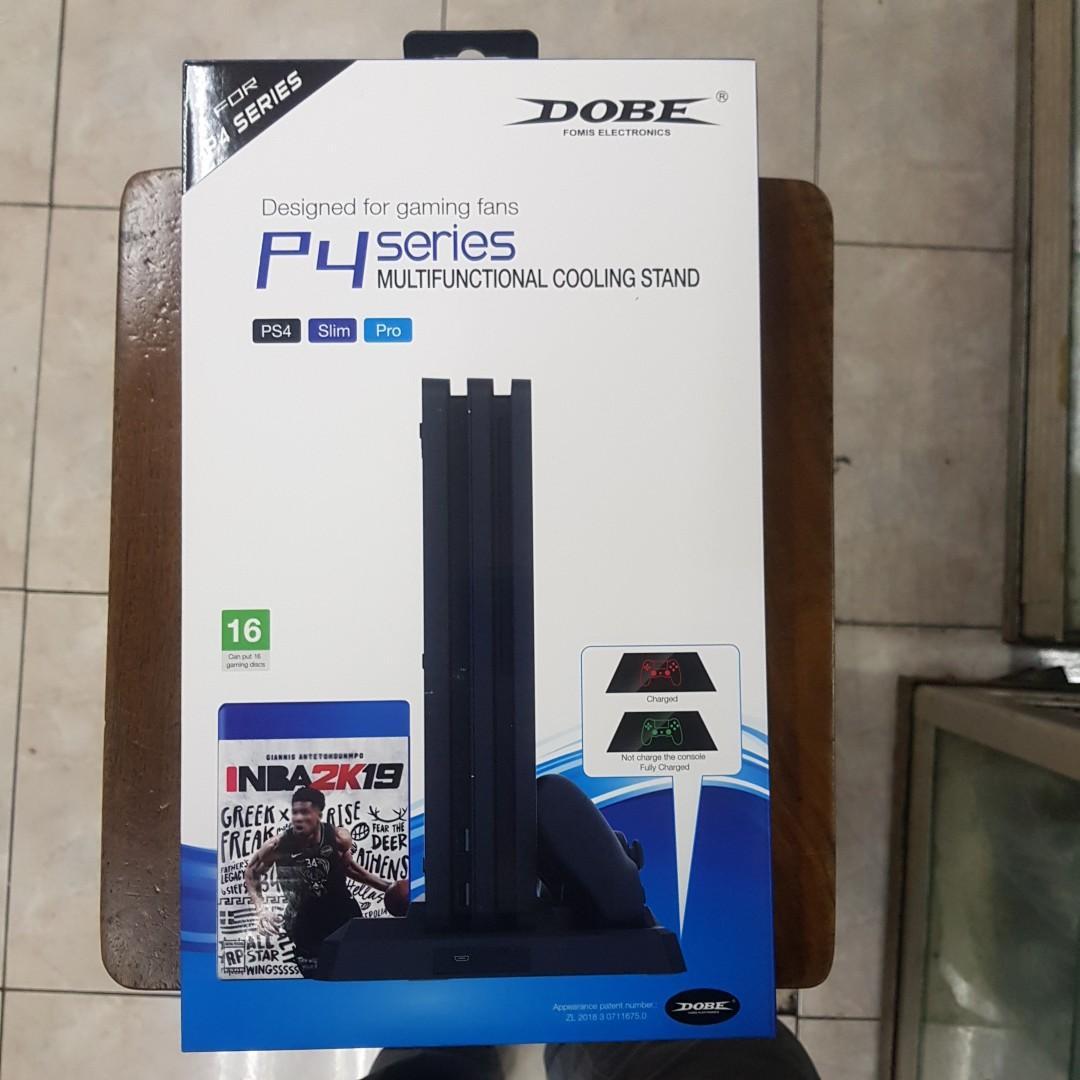 COOLING STAND MULTIFUNGSI PS4 FAT/SLIM/PRO