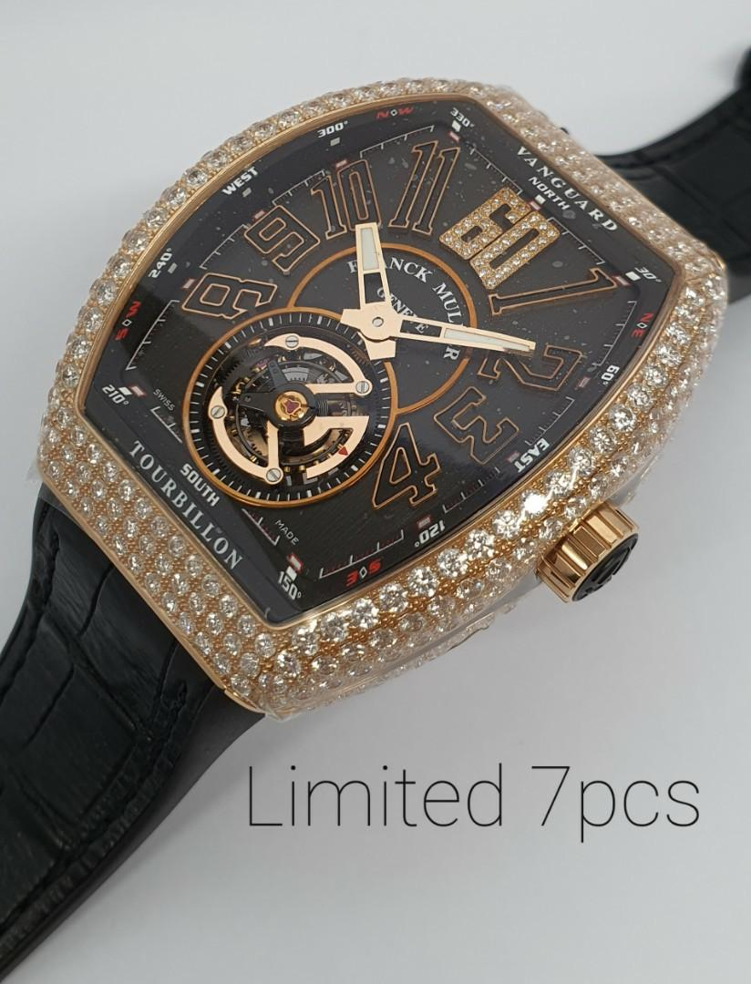 Diamonds Tourbillon Only 7 Pieces Made