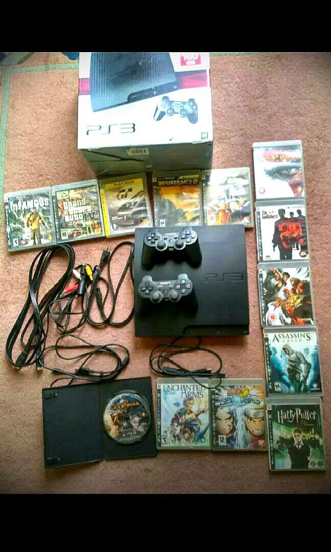 Dijual PS 3 Nego Lengkap Murah