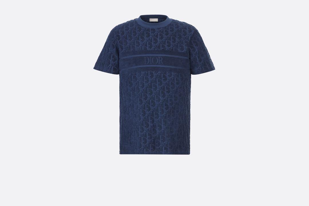 DIOR Oversize t-shirt with oblique motif