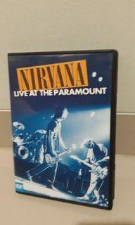 DVD music original Nirvana