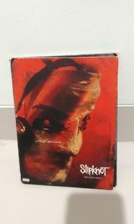 DVD music original Slipknot