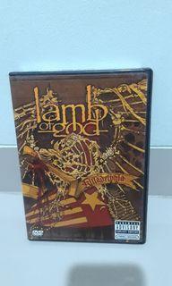 DVD music original Lamb of god