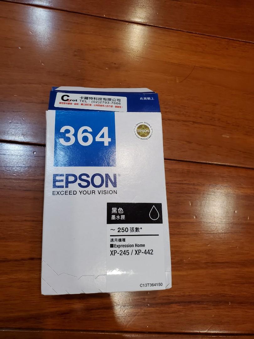 EPSON XP-245/XP-442黑色墨水匣 (全新)