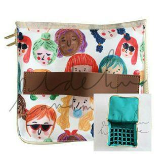 Essential Oil Bag Faces by Ideku Handmade