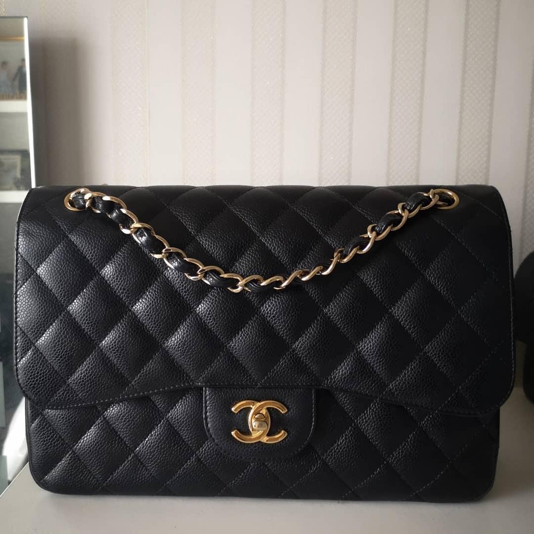 1 DAY SALE  $5990! Full Set LN Chanel Jumbo Double Flap