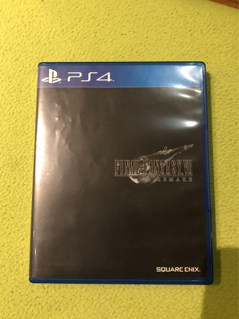 Final Fantasy VII PS4 BD (Ff7, final fantasy 7)