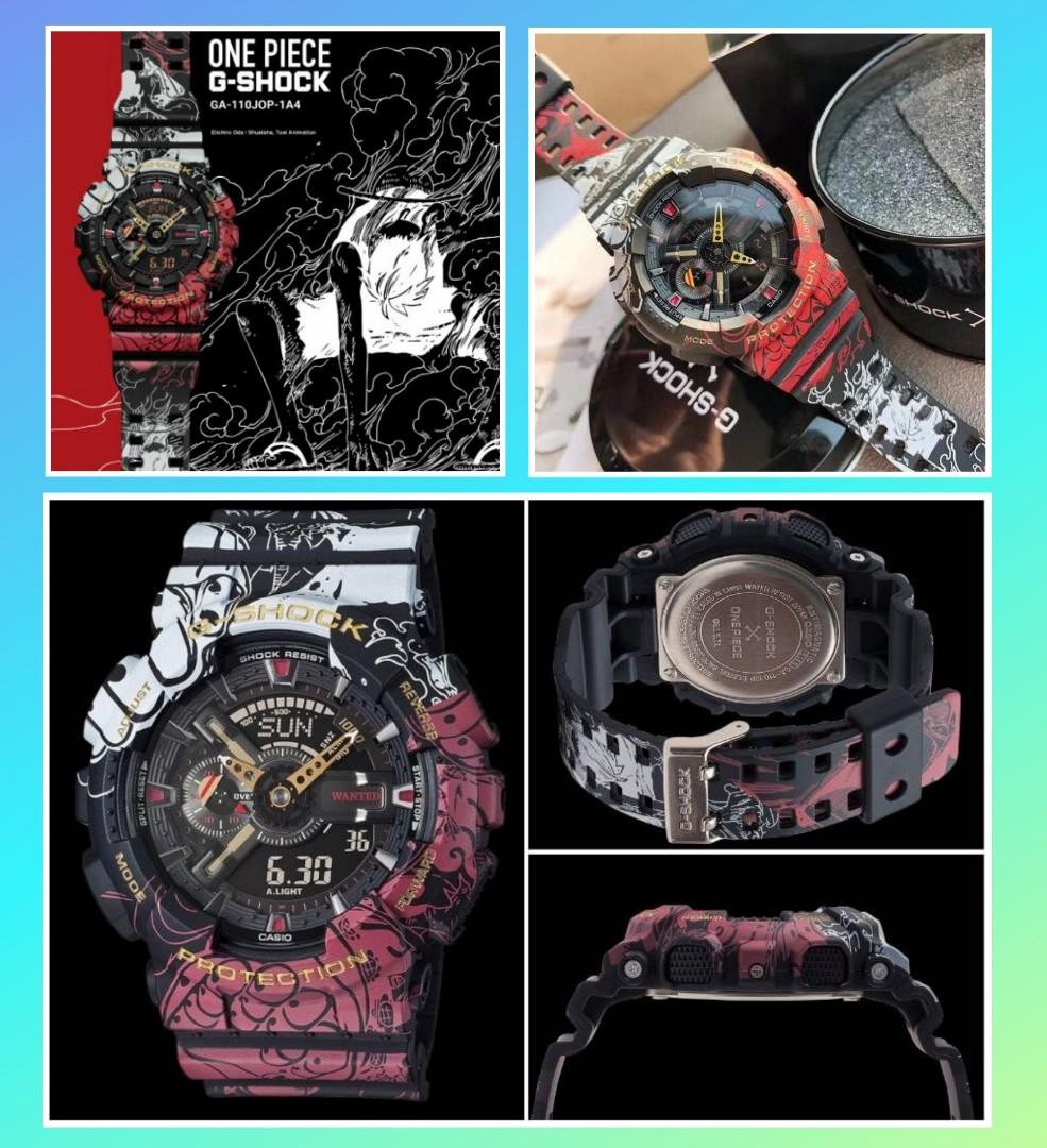 (Authentic-last pc in ready stock) G Shock One Piece Limited Edition GA-110JOP watch