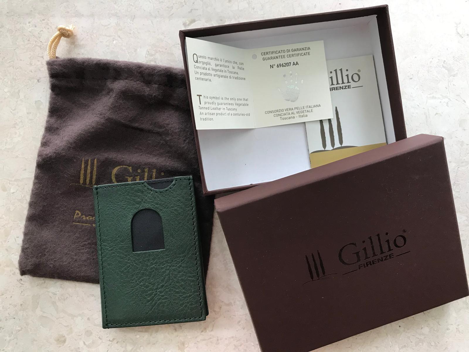 Gillio Leather Card Holder