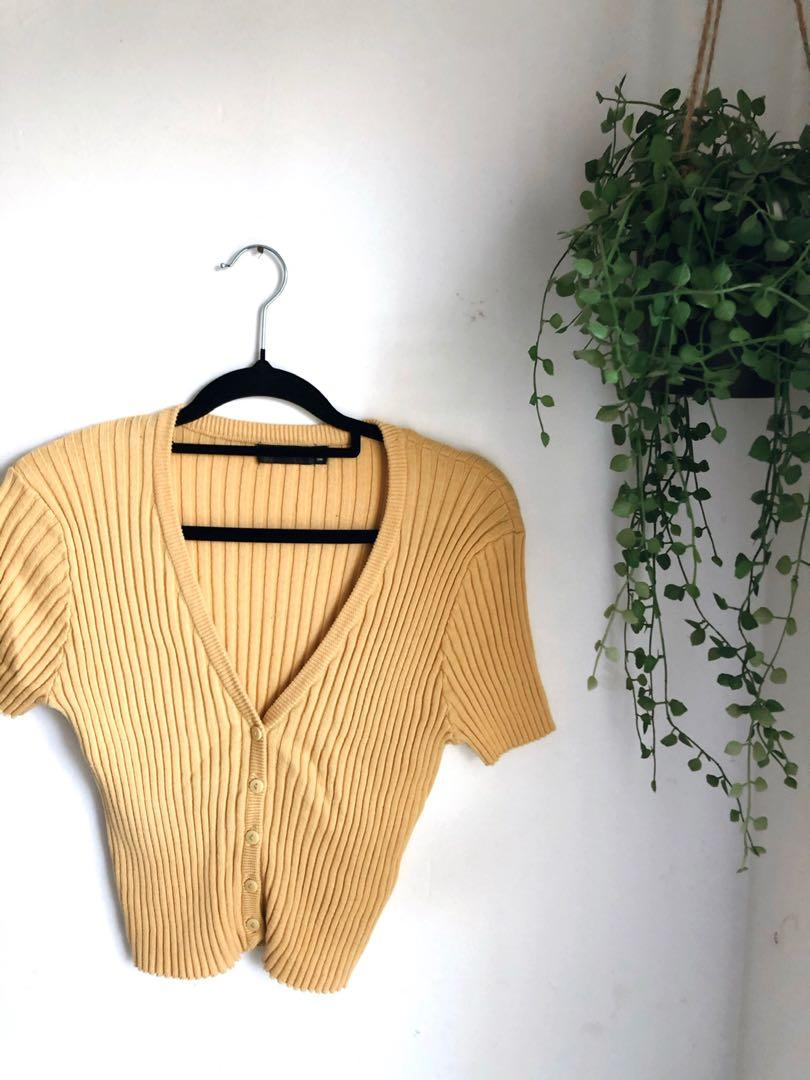 GLASSONS RIBBED TOP