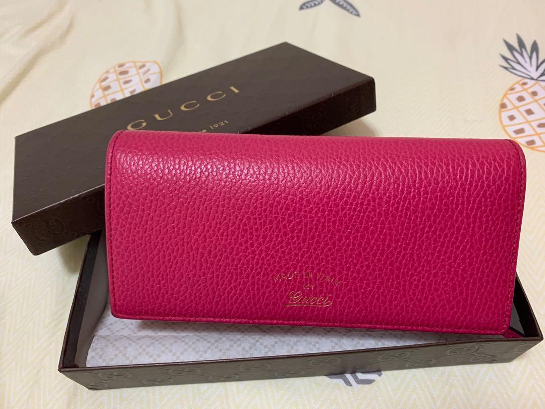 Gucci wallet / Hot Pink