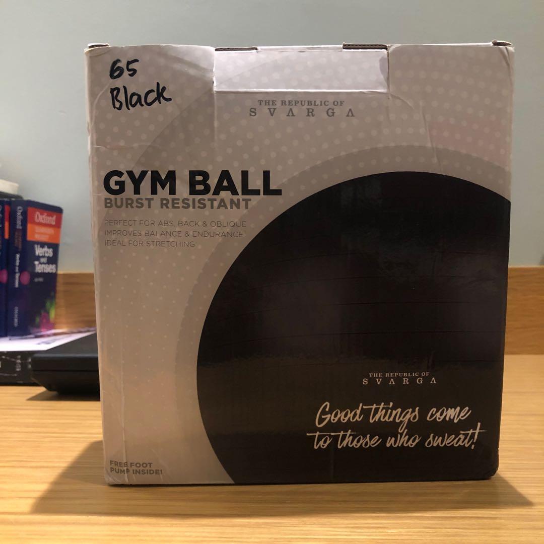 Gym Ball Svarga 65cm
