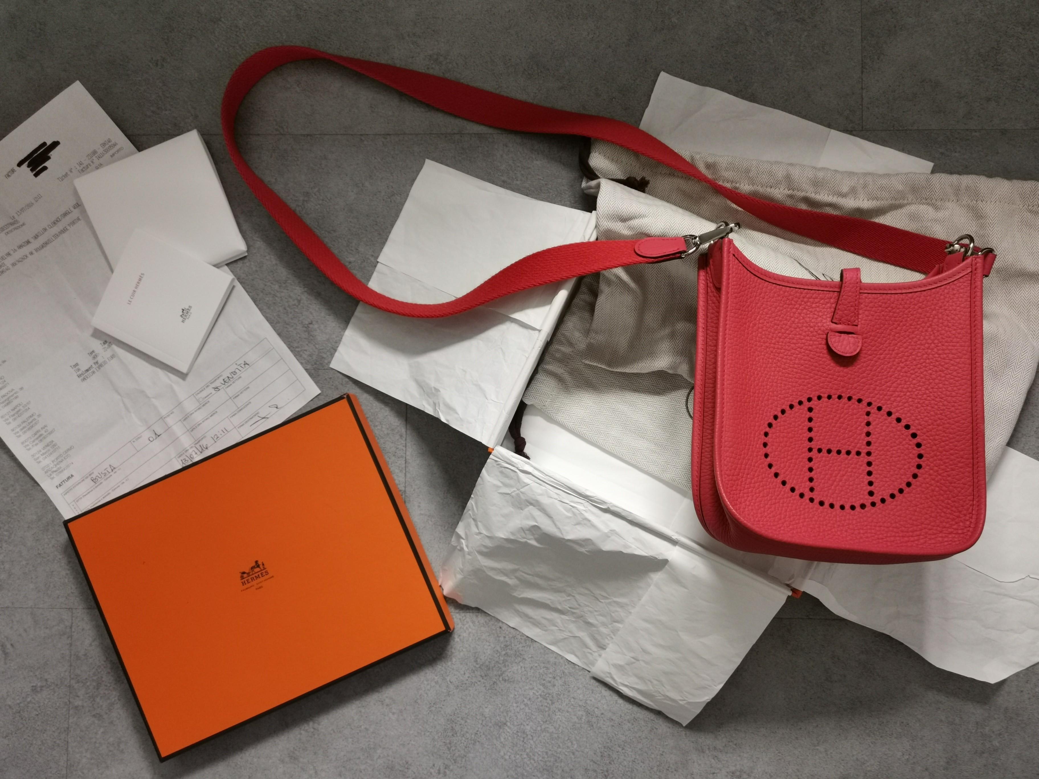 Hermes Evelyn TPM Full set with receipt