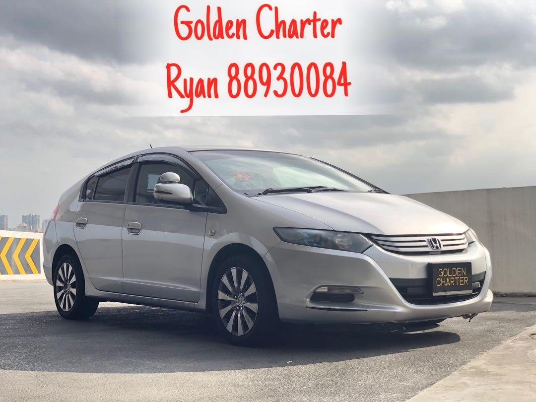 Honda Insight Hybrid For Rent ! PHV / Personal . Contact Ryan 88930084