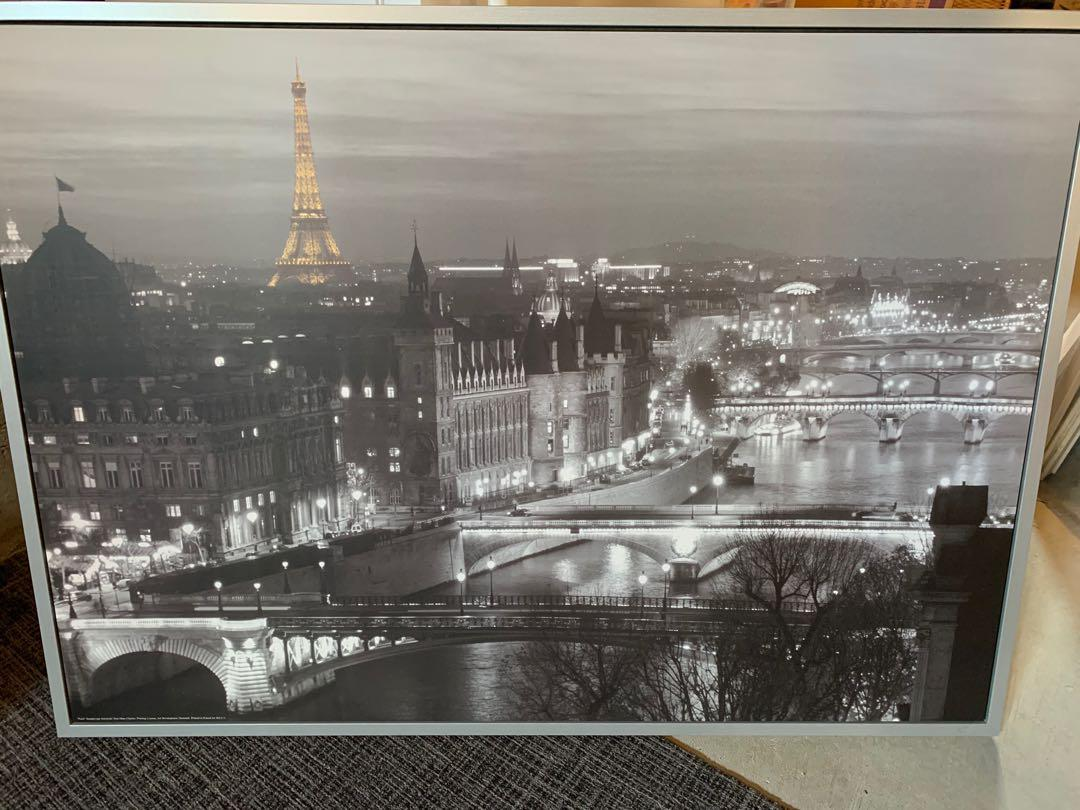 IKEA Paris Framed Picture