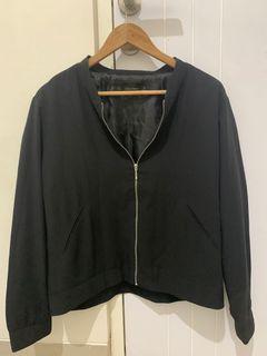 Jaket zara hitam