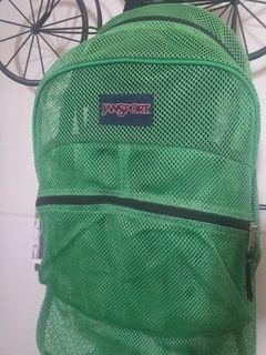 JANSPORT Backpack/Mesh Bag Still With Tag (Large)