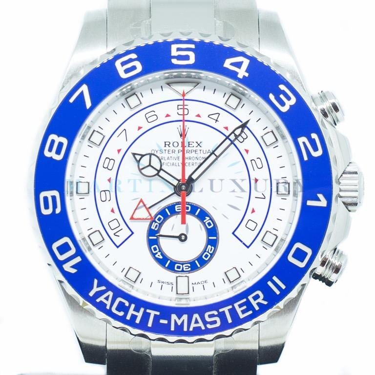 Like New Rolex Yacht-Master II in Stainless Steel Ref: 116680