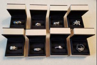 LINKS OF LONDON Silver Rings (Assorted)