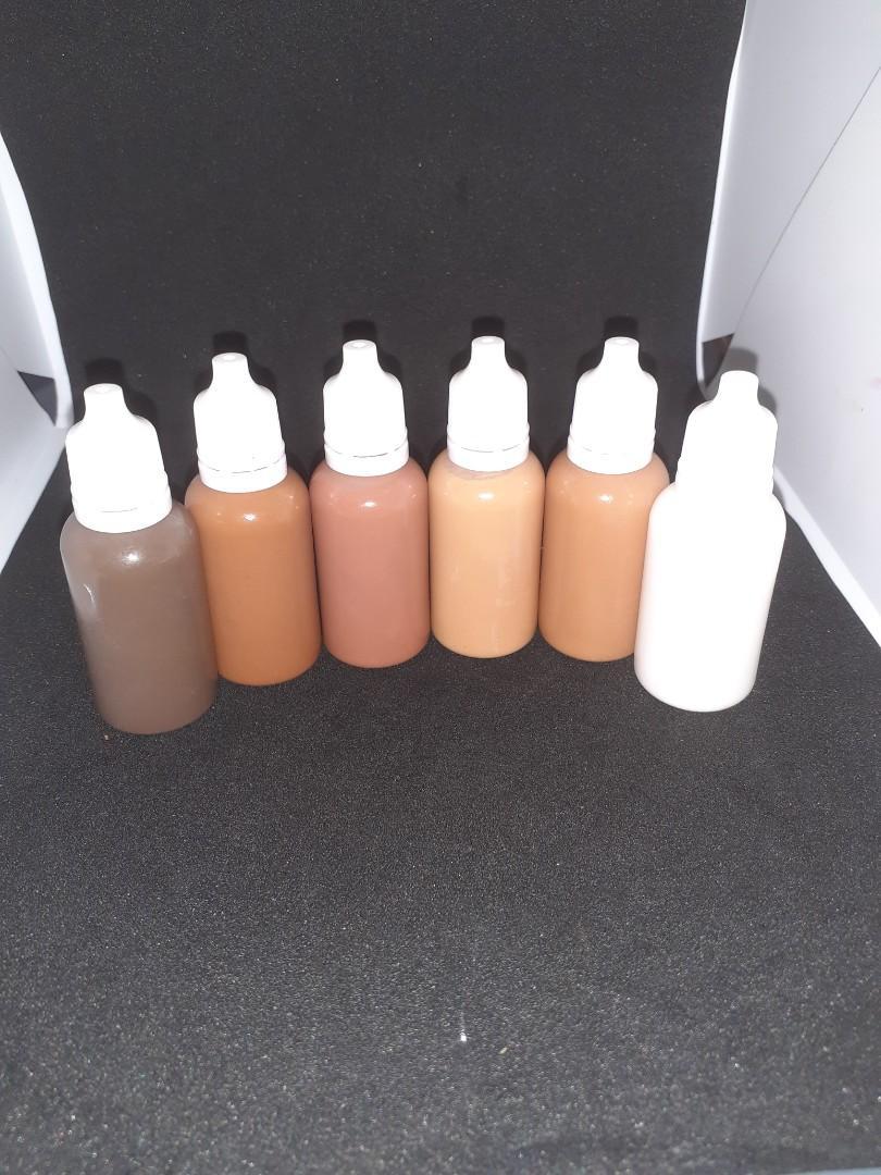 Liquid pigment melanin magic collection