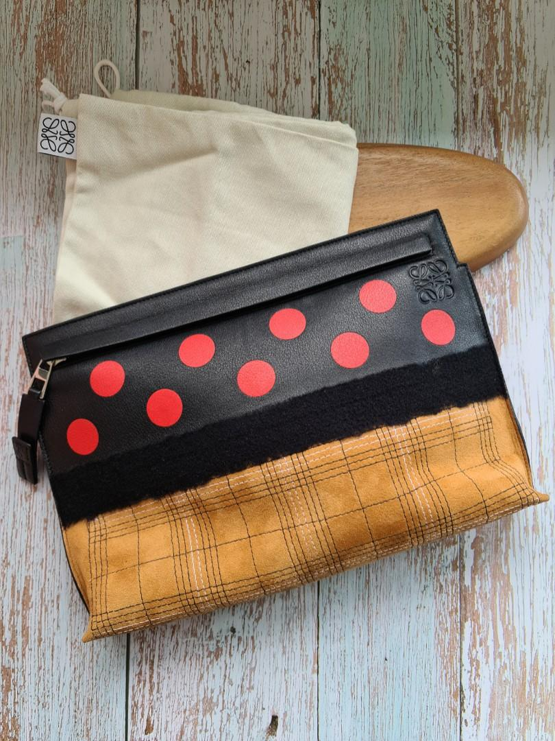 Loewe Missy Dots T Pouch / Clutch authentic