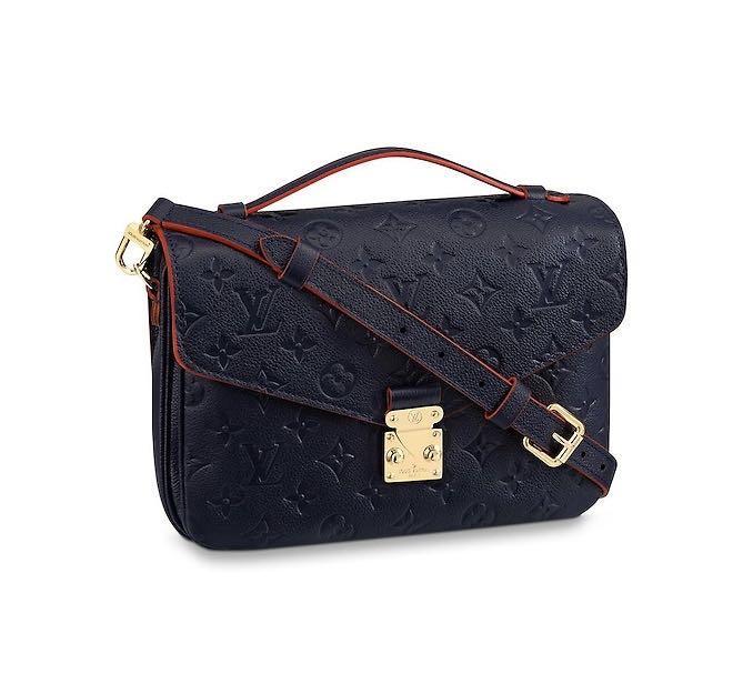 Louis Vuitton Pochette Metis Marine Rouge