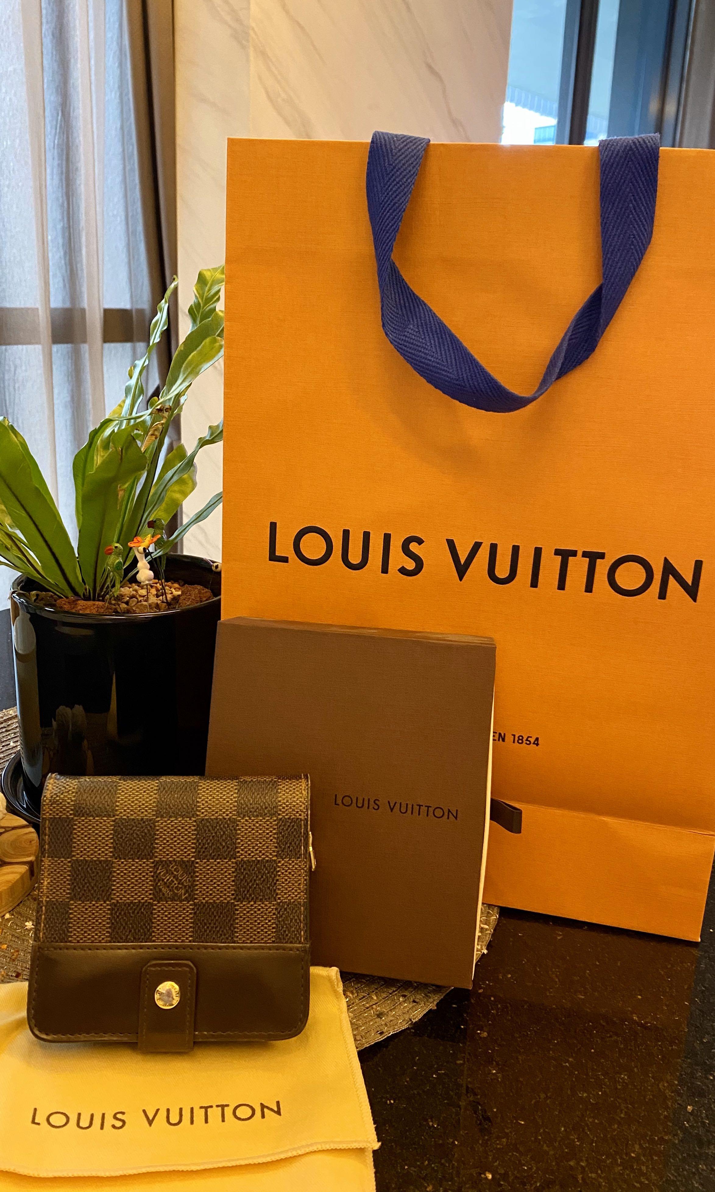Louis Vuitton Zippy Wallet Brown Damier