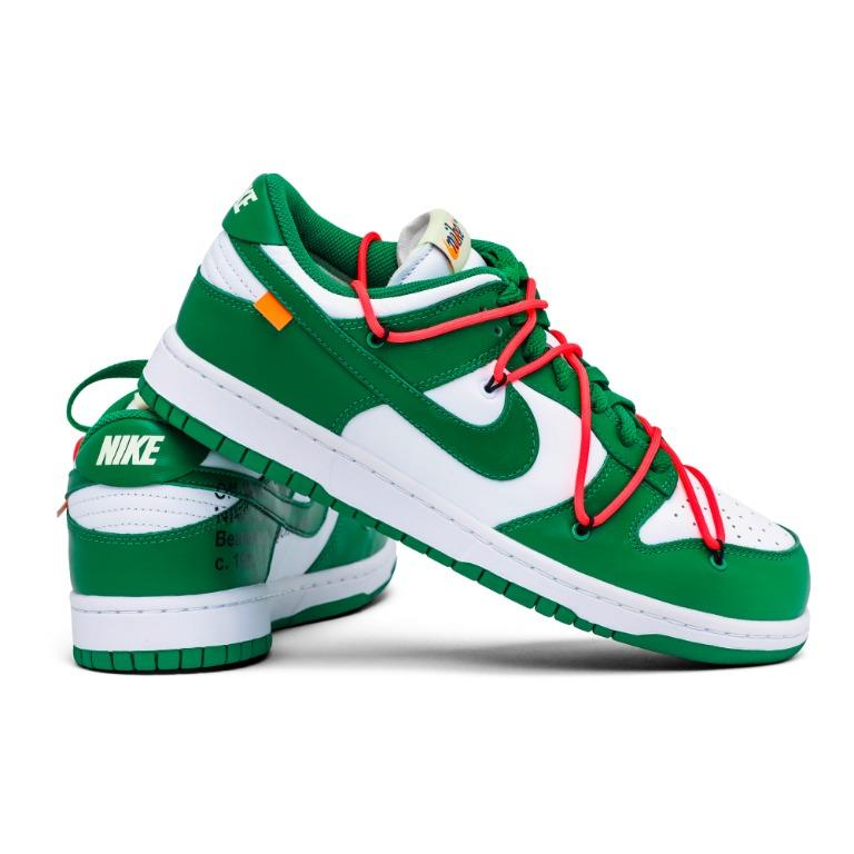 🔥Lucky Draw🔥 Off-White X Nike Dunk Low Pine Green🌲👟👀