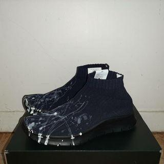 Maison margiela paint splatter sock sneaker