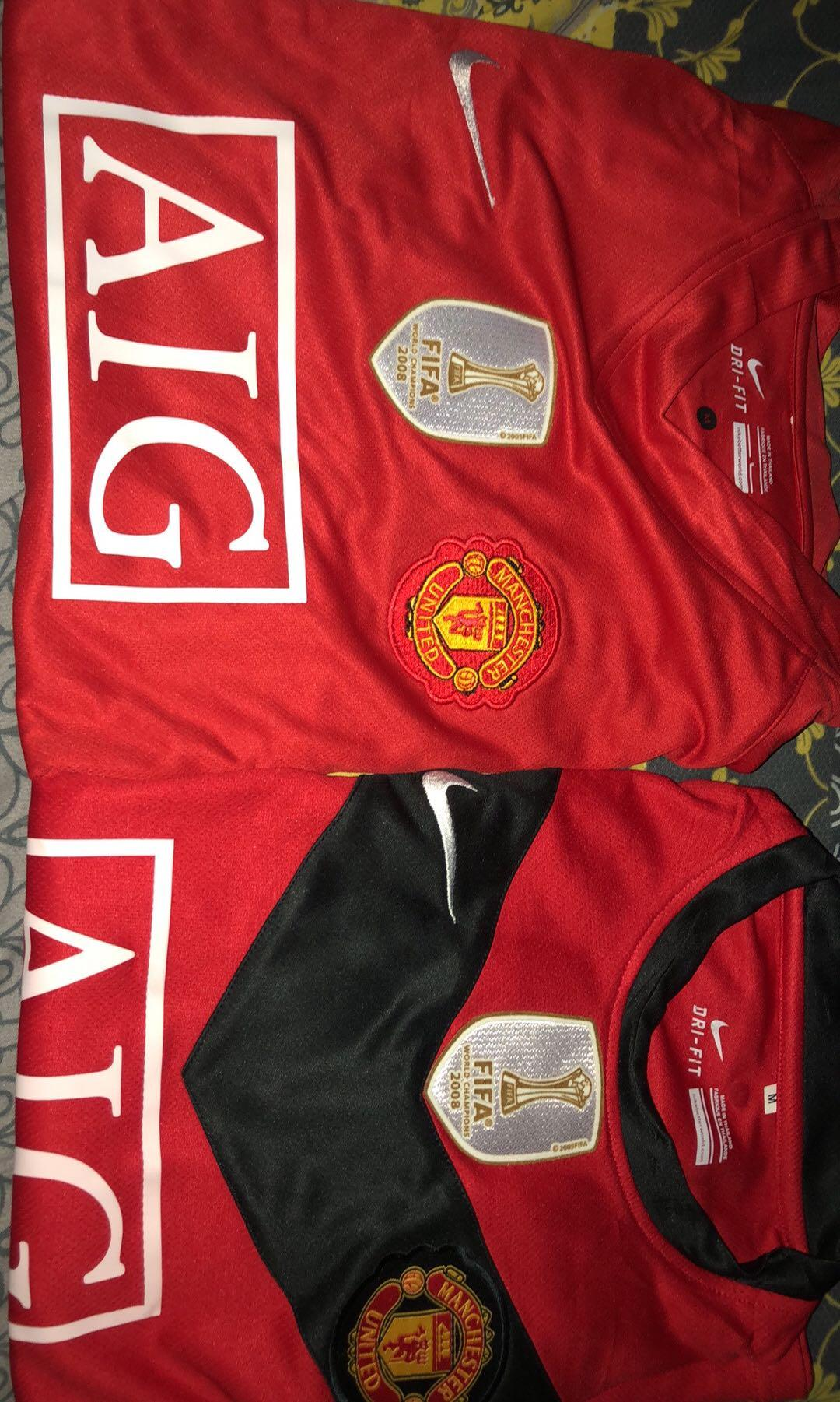 Manchester united Jersey Home 2007-2009