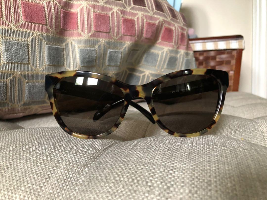 Marbled Prada Cat Eye Sunglasses
