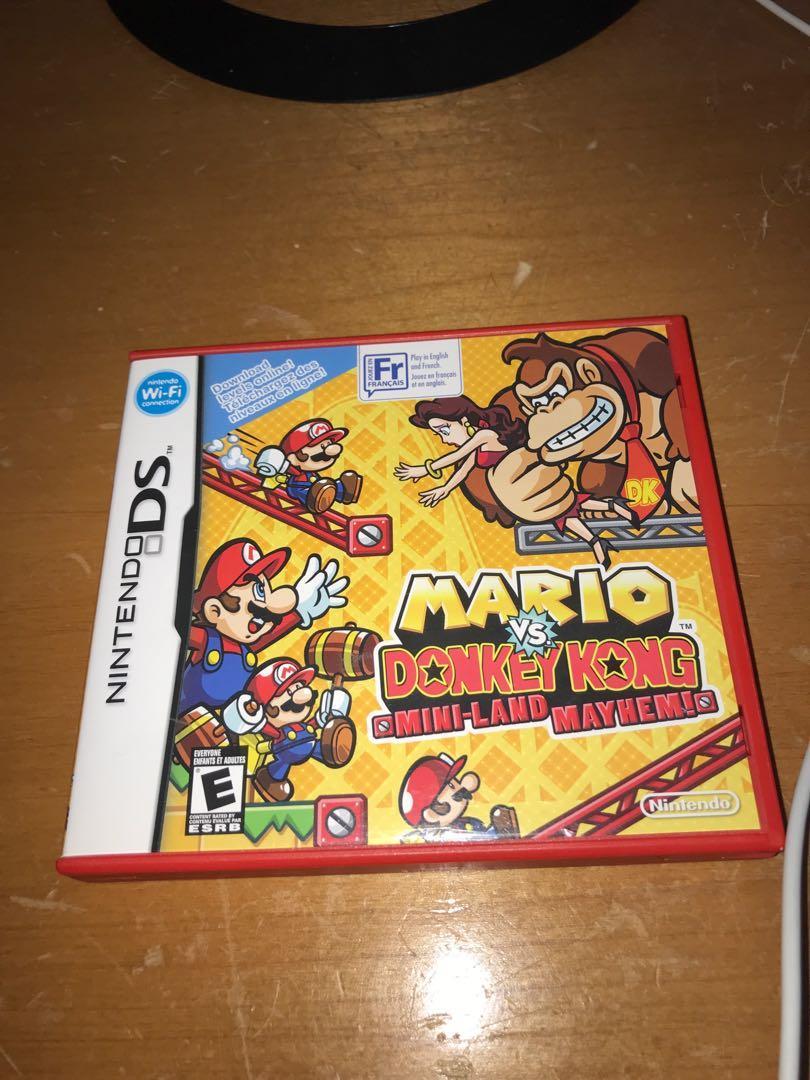 Mario vs donkey Kong for ds