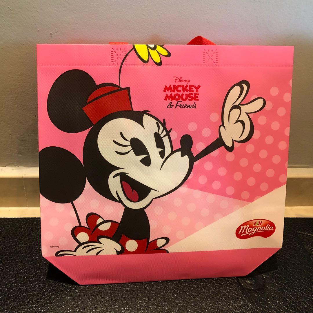 BN Mickey Mouse & friend - minnie recycle bag