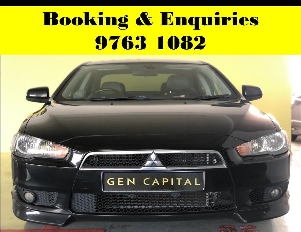 Mitsubishi EX ! Start of the week rental promotion rate ! PHV or Personal welcome ! cheap & budget car for rent ! Deposit @ $500 ! Whatsapp 9763 1082 to reserve !