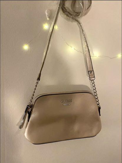 [NEW] GUESS champagne sling bag