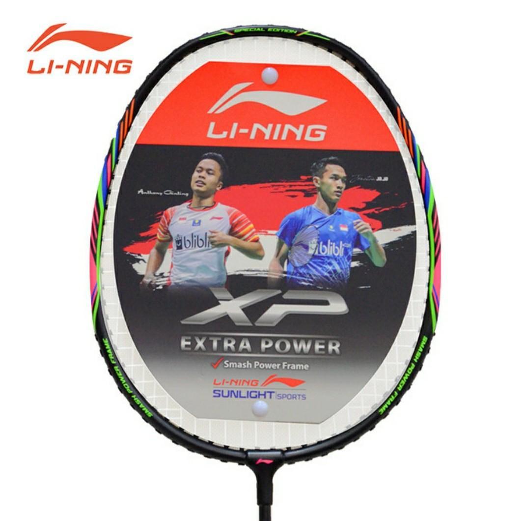 (NEW) Raket Badminton Li-Ning XP 2020 Special Edition Black