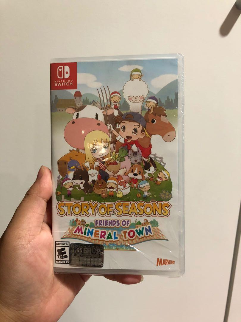 NEW SEGEL Switch Story Of Seasons Friends Mineral Town