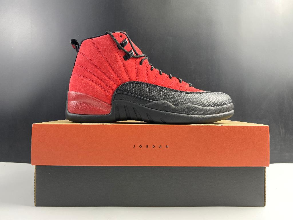 Nike Air Jordan 12 Reverse Flu Game CT8013-602 Men Size US7-13