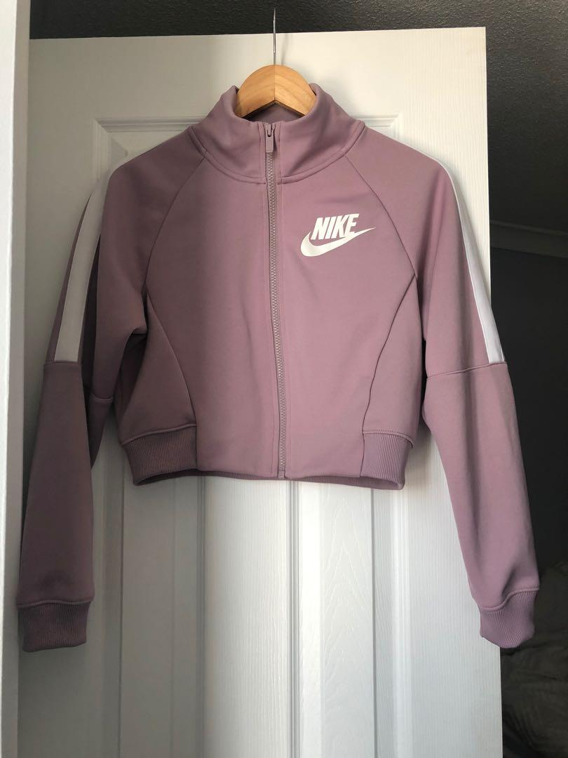 NIKE CROPPED SWEATER XS