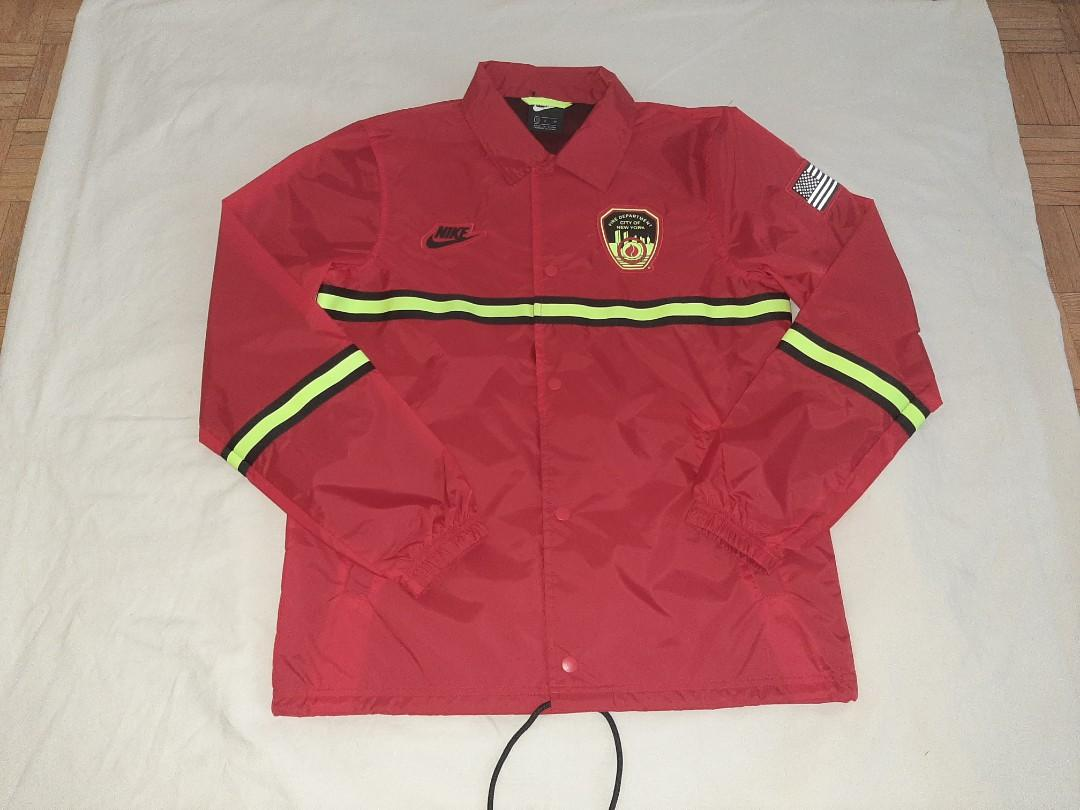 Nike new York fire department jacket