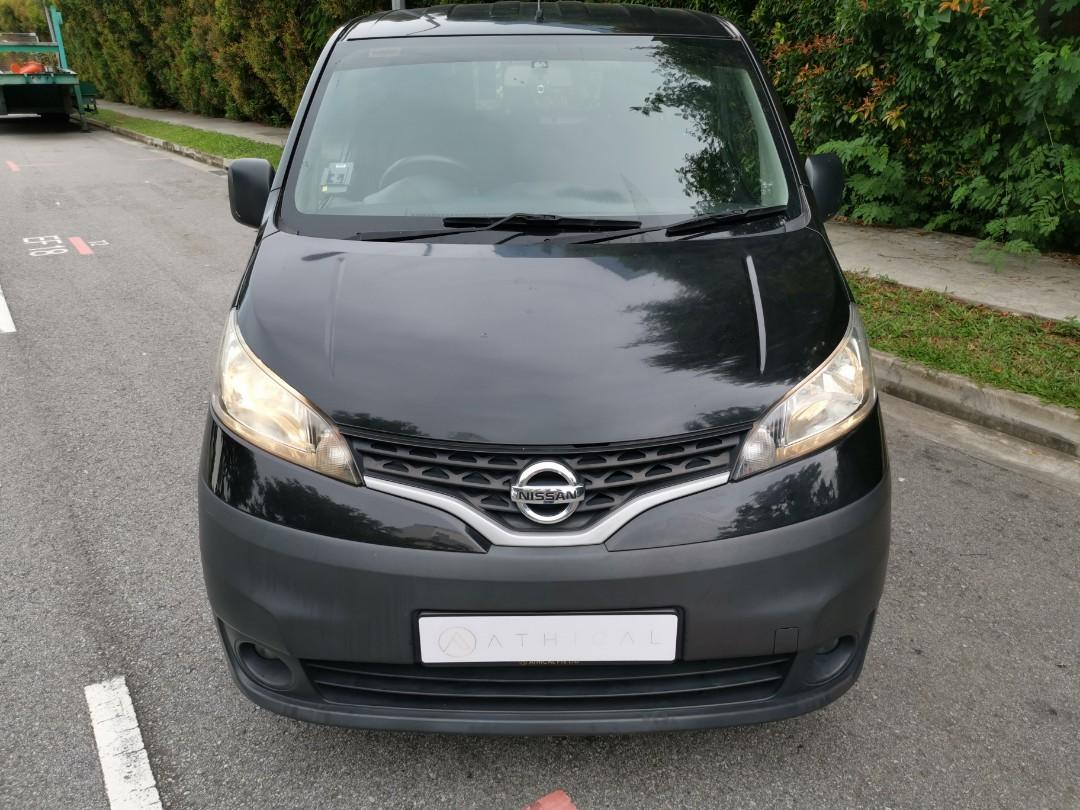 CHEAP & AFFORDABLE NISSAN NV200 1.5L MANUAL VAN FOR LONG TERM RENTAL! 1 YEAR CONTRACT @ $1,150 MONTHLY !!